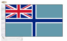 United Kingdom UK Civil Air Ensign Courtesy Boat Flags (Roped and Toggled)